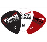 Набор из 3 медиаторов Strings and Beyond разной толщины