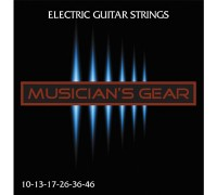 Musicians Gear Electric 10 Nickel Plated Steel (010-046)