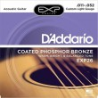 DAddario EXP26 Coated Phosphor Bronze 11-52 Custom Light