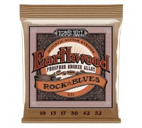 Ernie Ball 2151 Earthwood Phosphor Bronze (010-052) Rock & Blues