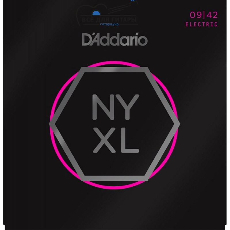 DAddario NYXL0942 NYXL 9-42 Super Light