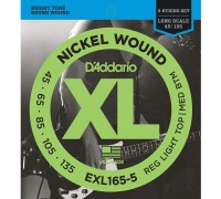 DAddario EXL165-5 XL 45-135 Reg. Light Top / Med. Btm. 5-String