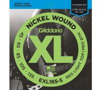 DAddario EXL165-5 XL 45-135 Reg. Light Top / Med. Btm. 5-String