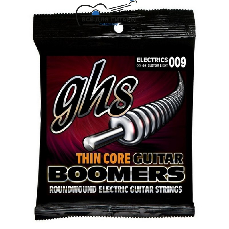 GHS Thin Core Boomers TC-GBCL 9-46 Custom Light
