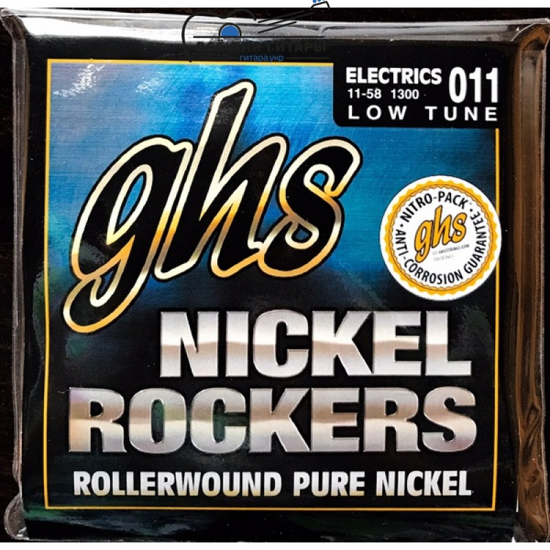 GHS Nickel Rockers 1300 11-58 Lo-Tune