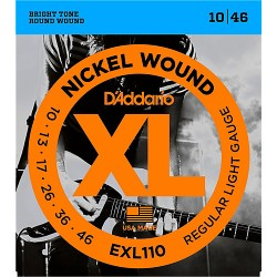 DAddario EXL110 Nickel Regular Light (010-046)