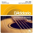 DAddario EJ19 Phosphor Bronze Bluegrass Medium Light (012-056)