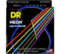 DR Strings Hi-Def NEON Multi-Color (011-050)