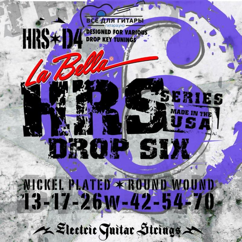 La Bella HRS-D4 13-70 Drop Tune