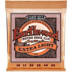 Ernie Ball 2150 Earthwood Phosphor Bronze Extra Light (010-050)