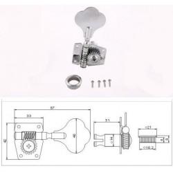 Комплект колков MHB01-CR