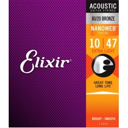 Elixir Bronze Nanoweb 11002 (010-047)