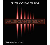 Musicians Gear Electric 9 Nickel Plated Steel (009-042)