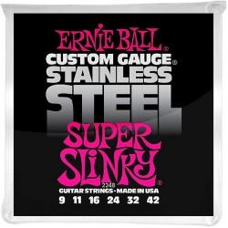 Ernie Ball 2248 Super Slinky Stainless Steel