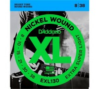 DAddario EXL130 XL 8-38 Extra Super Light