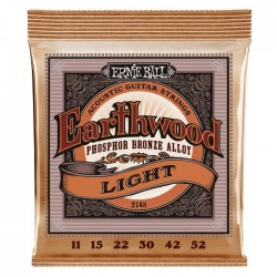 Ernie Ball 2148 Earthwood Phosphor Bronze Light (011-052)