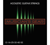Musicians Gear Acoustic 12 Bronze (012-052)