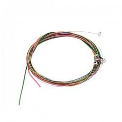 Разноцветные струны для акустической гитары (011-052)