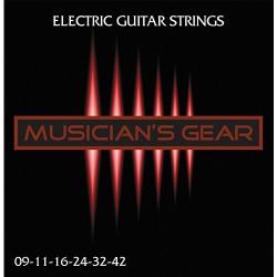 Musician's Gear Electric 9 Nickel Plated Steel