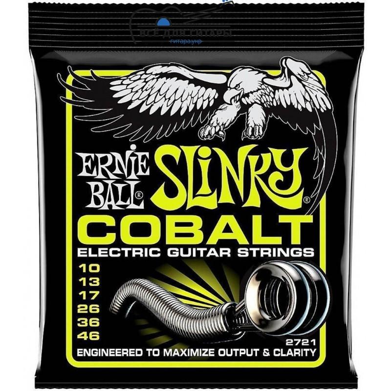 Ernie Ball 2721 Cobalt 10-46 Regular Slinky