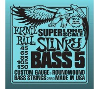 Ernie Ball 2850 5-String Bass 45-130 Super Long Scale Slinky