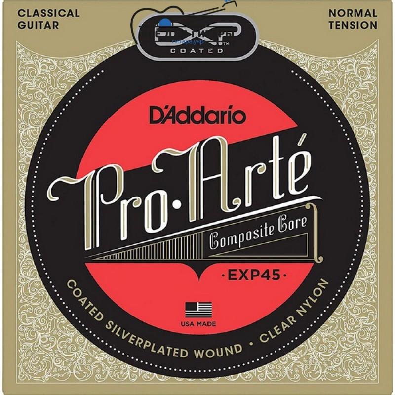 D'Addario EXP45 Pro-Arte Coated Normal Tension
