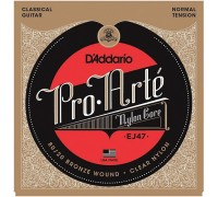 DAddario EJ47 Pro-Arte Bronze Nylon Normal Tension