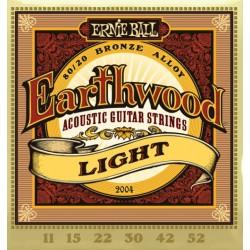 Ernie Ball 2004 Earthwood Bronze Light (011-052)