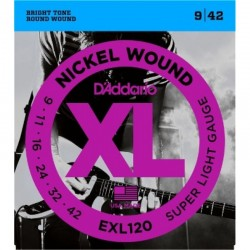 D'Addario EXL120 Nickel Super Light