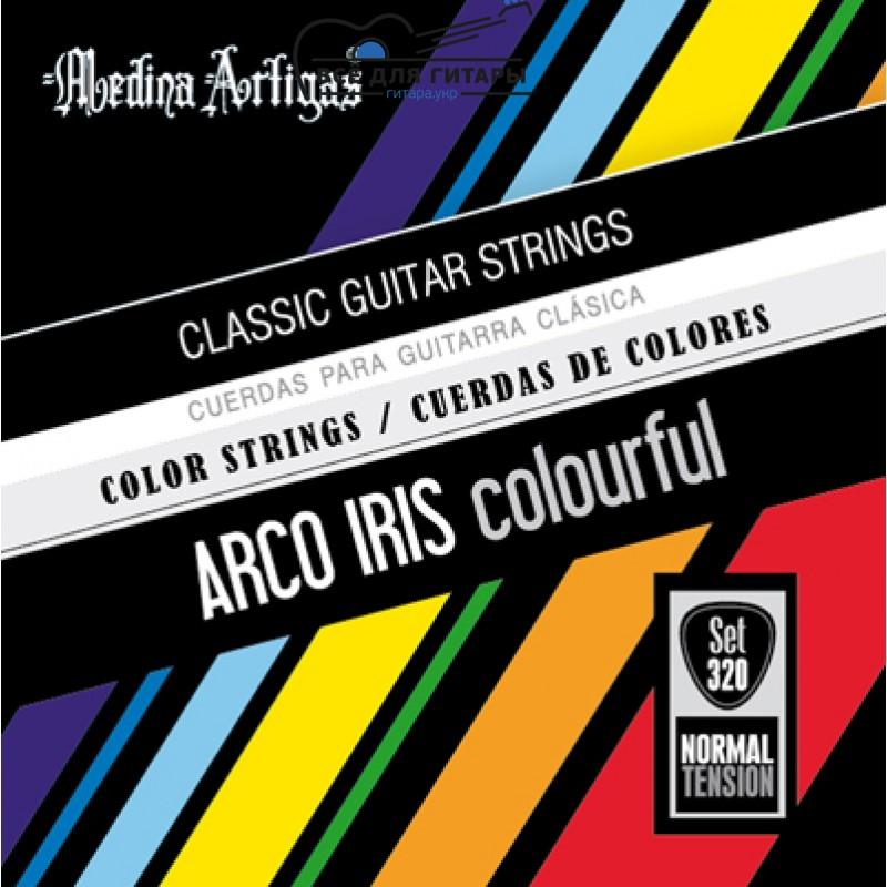 Разноцветные струны Medina Artigas Arco Iris 360 (3/4)