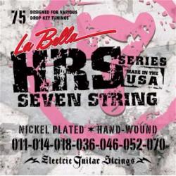 La Bella HRS-75 7-string 11-70