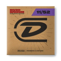 Dunlop DAB1152 Bronze 11-52 Medium Light