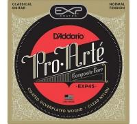 DAddario EXP45 Pro-Arte Coated Normal Tension