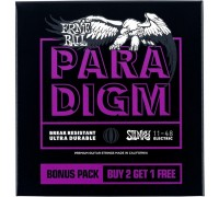 Ernie Ball 3370 Paradigm 11-48 Power Slinky 3-pack (3 сета)