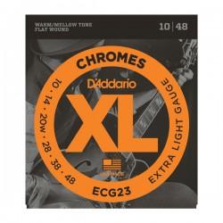 DAddario ECG23 XL Chromes 10-48 Extra Light