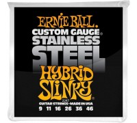 Ernie Ball 2247 Stainless Steel 9-46 Hybrid Slinky
