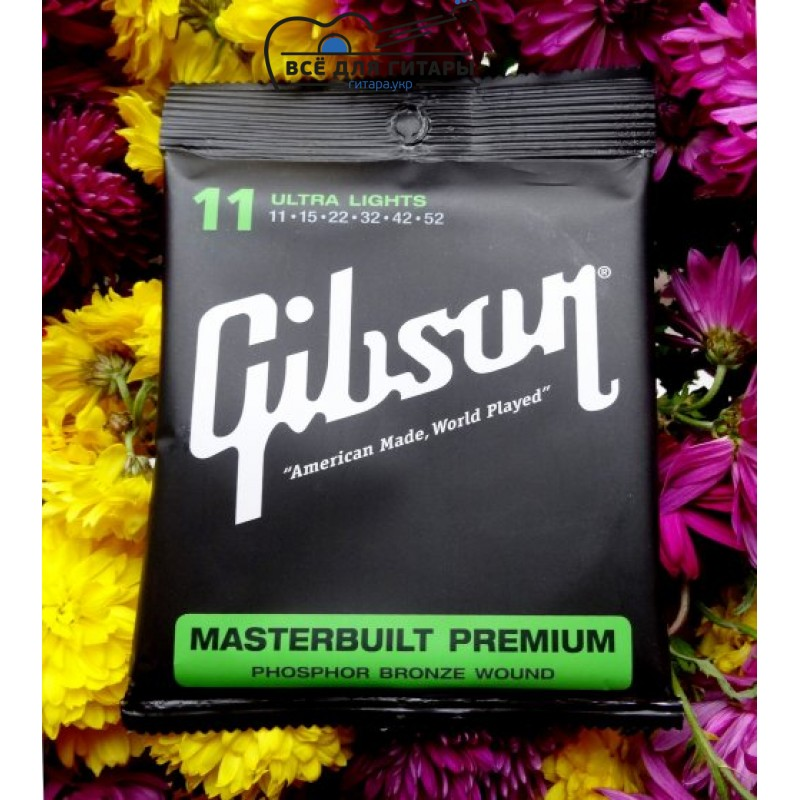 Gibson SAG-MB11 Masterbuilt Premium Phosphor