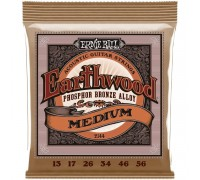 Ernie Ball 2144 Earthwood Phosphor Bronze 13-56 Medium