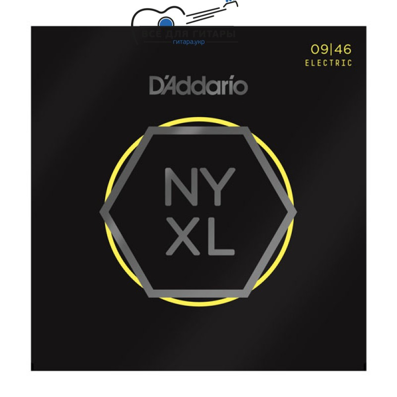 DAddario NYXL0946 NYXL 9-46 Super Light Top / Regular Bottom