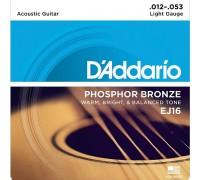 DAddario EJ16 Phosphor Bronze Light (012-053)