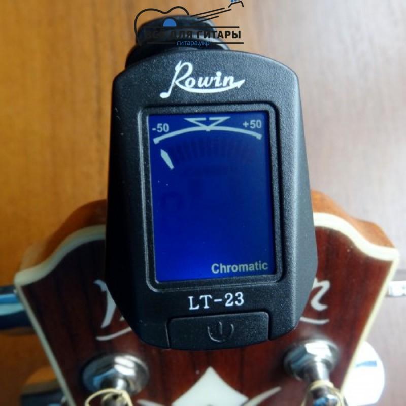тюнер для настройки гитары ровин LT-23