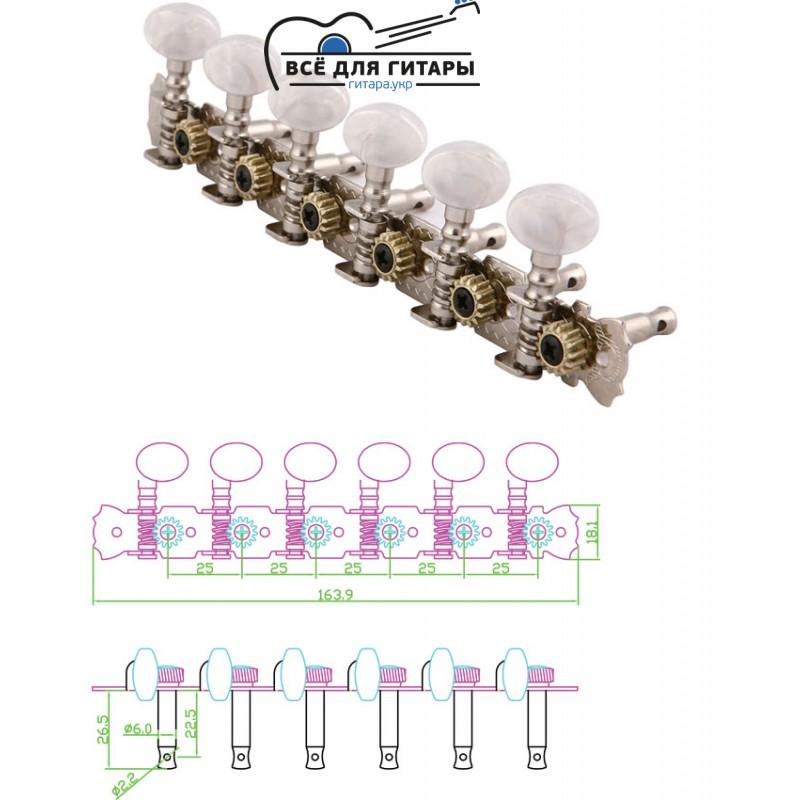 Колковый механизм MHA604