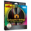 Разноцветные струны Alice A107C