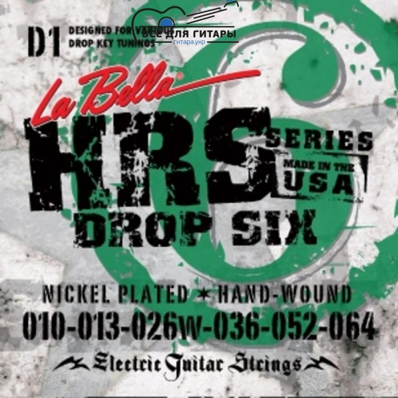 La Bella HRS-D1 10-64 Drop Tune