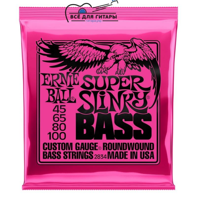 Ernie Ball 2834 Bass 45-100 Super Slinky