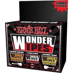 Набор салфеток Ernie Ball Wonder Wipe для ухода за гитарой