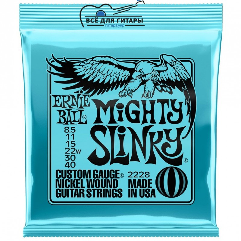 Ernie Ball 2228 8.5-40 Mighty Slinky