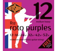 Rotosound R12 Nickel on Steel 12-52 Medium Heavy