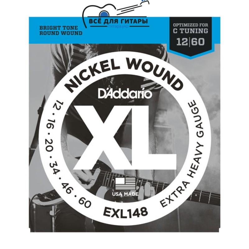 DAddario EXL148 XL 12-60 Extra Heavy