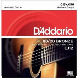 DAddario EJ12 Bronze 13-56 Medium